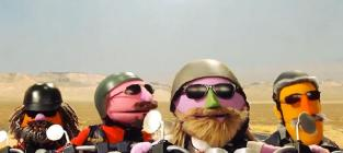 Sesame street parodies sons of anarchy