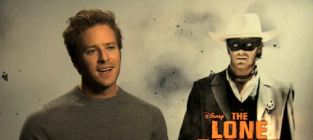 Johnny depp and armie hammer on critics reaction to the lone ran