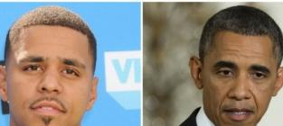 J cole obama wouldnt be president with dark skin