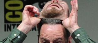 Bryan cranston wears heisenberg mark