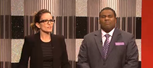 Tina Fey SNL Clip - New Cast Member or Arcade Fire?