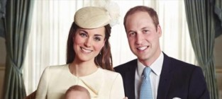 Prince george christening photo album