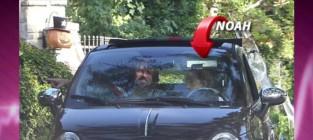 Noah cyrus 13 goes driving around la