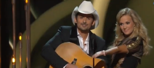 Cma awards carrie underwood and brad paisley highlights