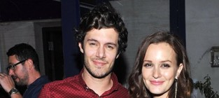 Leighton meester adam brody engaged