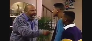 James Avery on The Fresh Prince of Bel-Air