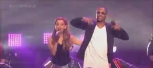 Ariana grande new years eve performance
