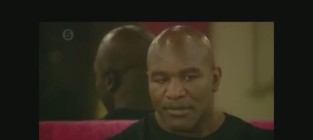Evander holyfield slams homosexuality as a handicap