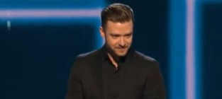 Justin timberlake peoples choice awards speech