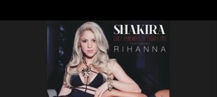Rihanna and shakira cant remember to forget you