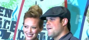 Mike comrie and hilary duff behind the break up