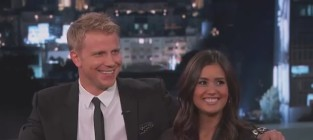 Sean lowe and catherine giudici on jimmy kimmel live part 1 of 2