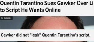 Gawker hits back at quentin tarantino