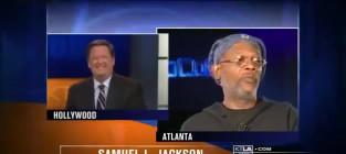 Samuel l jackson blasts moronic reporter