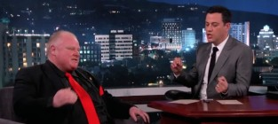 Rob ford on jimmy kimmel live part 2
