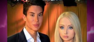Human ken doll human barbie