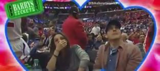 Mila and ashton kiss on camera