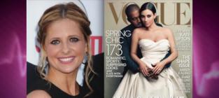 Sarah Michelle Gellar RIPS Kim Kardashian, Vogue