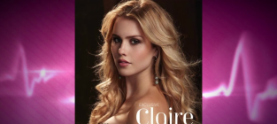Claire holt glamaholic cover girl