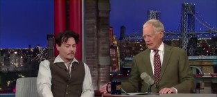Johnny depp on david letterman
