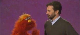 Jon hamm on sesame street