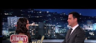 Andi Dorfman on Jimmy Kimmel Live