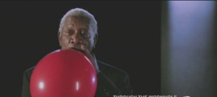 Morgan Freeman Inhales Helium, Stops Sounding Like Morgan Freeman