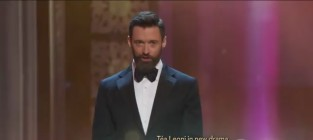Hugh Jackman Raps with LL Cool J and T.I. at the Tony Awards