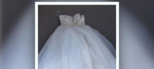Scathing ad posted for wedding gown worn by cheating ex wife