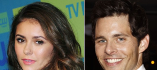 Nina dobrev and james marsden