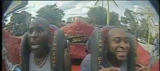 DMX Goes on Amusement Park Ride, LOSES HIS MIND (Up in Herrrre)