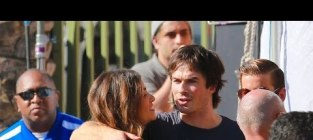 Ian somerhalder and nikki reed pda