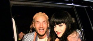 Katy perry and riff raff were a couple