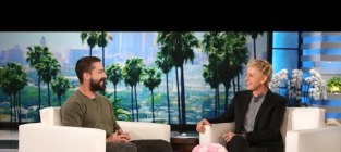 Shia LaBeouf on Ellen