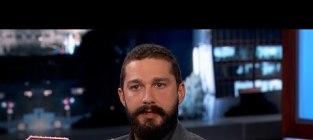 Shia LaBeouf Talks Arrest With Jimmy Kimmel