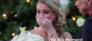 His Fiancee Was Sick of Wedding Planning. You Won't Believe What He Did For Her.