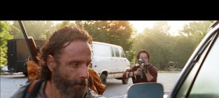 The walking dead opening scene