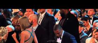 Taylor swift kanye west jay z at the grammys