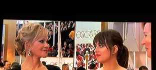 Melanie Griffith and Dakota Johnson Get Awkward about Fifty Shades of Grey