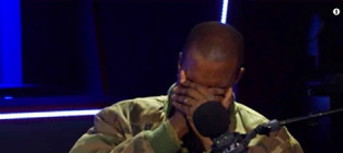 Kanye West Cries Over Dead Teacher
