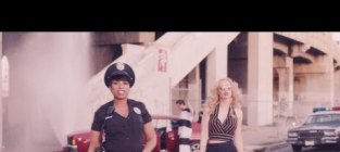 "Iggy Azalea: ""Trouble"" Music Video Features Jennifer Hudson as Cop to Iggy's Robber"