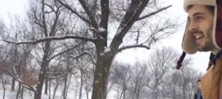 Derick dillard sledding