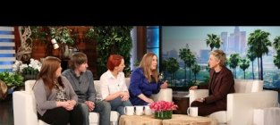 Number thedress appears on ellen