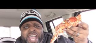 Daym drops little caesars bacon wrapped pizza review