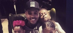 Chris brown nephew sing loyal