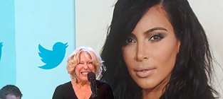 Bette midler belts out kim kardashian tweets