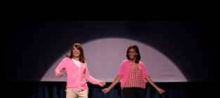 """Michelle Obama Joins Jimmy Fallon for """"The Evolution of Mom Dancing Part 2"""""""