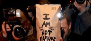 Shia LaBeouf Wears Brown Paper Bag, Claims 'I'm Not Famous Anymore'