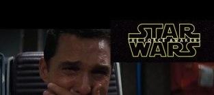 Matthew McConaughey Cries Over Star Wars Trailer