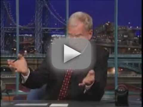 Letterman on Affair